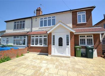 Thumbnail 4 bedroom semi-detached house for sale in Willowbrook Road, Staines