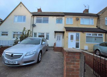 Thumbnail 3 bed terraced house for sale in Holystone Crescent, High Heaton, Newcastle Upon Tyne