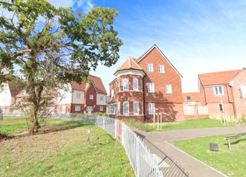 Thumbnail 4 bed detached house for sale in Hedley Way, Hailsham