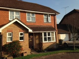 Thumbnail 2 bed semi-detached house to rent in Warwick Deeping, Ottershaw, Chertsey