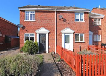 Thumbnail 2 bed semi-detached house to rent in Thackers Way, Deeping St. James, Peterborough