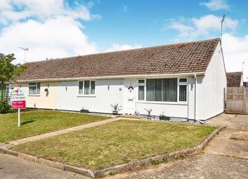 Thumbnail 2 bed semi-detached bungalow for sale in Appledore Lane, Wicken Green Village, Fakenham