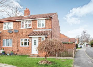 Thumbnail 3 bedroom semi-detached house for sale in Grove Park, Barlby