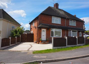 Thumbnail 2 bedroom semi-detached house for sale in Greenwood Avenue, Hucknall