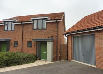 Thumbnail 2 bed semi-detached house for sale in Oxford Way, Upper Cambourne, Cambridge