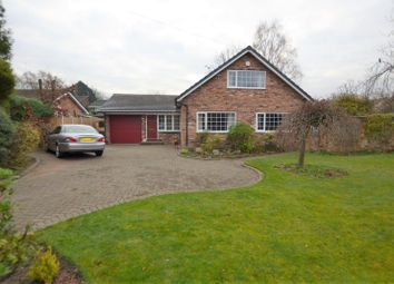 Thumbnail Bungalow for sale in Main Road, Goostrey, Crewe