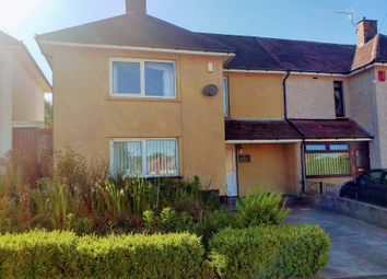 Thumbnail 3 bed semi-detached house for sale in Heol-Y-Felin, Caerphilly