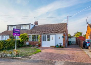 Thumbnail 2 bed semi-detached bungalow for sale in Norman Road, Barton Le Clay