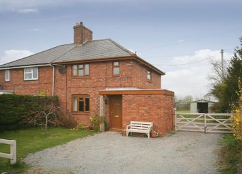 Thumbnail 3 bed semi-detached house for sale in 3 Tunstall Lane, High Offley, Staffordshire.