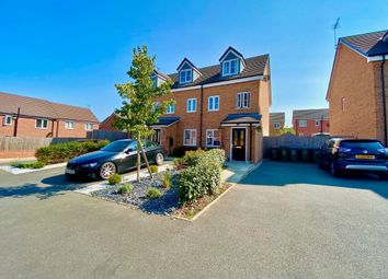 Thumbnail 3 bed town house for sale in Greyhound Road, The Brooks, Coventry