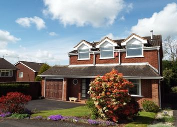 Thumbnail 3 bed detached house to rent in Adamson Close, Hatherton, Cannock