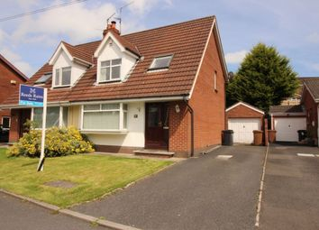 Thumbnail 3 bedroom semi-detached house for sale in Upper Malvern Crescent, Belfast