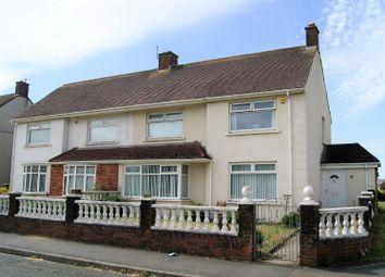 Thumbnail 3 bed semi-detached house for sale in Sandown Road, Aberavon, Port Talbot