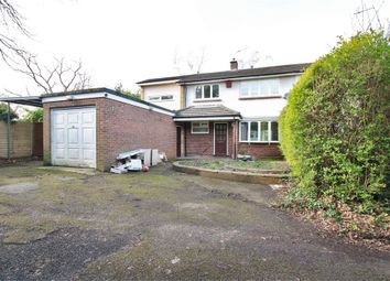 Thumbnail 4 bedroom semi-detached house to rent in Commons Road, Wokingham, Berkshire