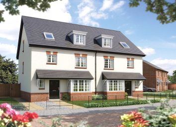 Thumbnail 4 bedroom semi-detached house for sale in Heron Way, Malbank Waters, Edleston