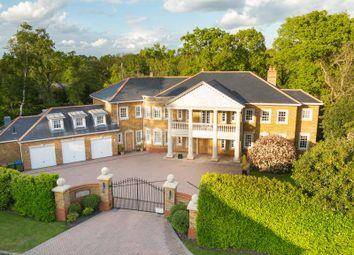 Thumbnail 6 bed detached house to rent in Kings Warren, Oxshott, Leatherhead