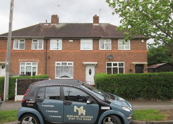 Thumbnail 3 bed terraced house to rent in Kempe Road, Birmingham