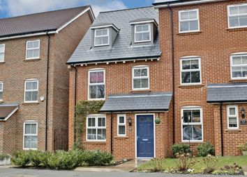 Thumbnail 4 bed town house for sale in Cufaude Lane, Sherfield-On-Loddon, Hook