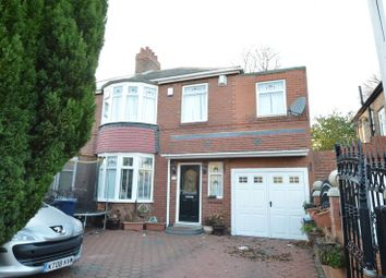 Thumbnail 5 bedroom semi-detached house for sale in Keldane Gardens, Fenham, Newcastle Upon Tyne