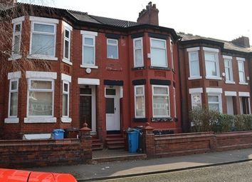 Thumbnail 5 bed terraced house to rent in Kensington Avenue, Manchester