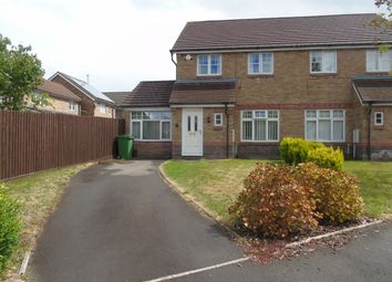 Thumbnail 3 bed semi-detached house for sale in Yarrow Close, Cardiff