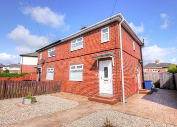 Thumbnail 2 bed semi-detached house for sale in Hexham Road, Throckley, Newcastle Upon Tyne