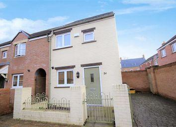 Thumbnail 2 bedroom semi-detached house for sale in Ewden Close, East Wichel, Swindon