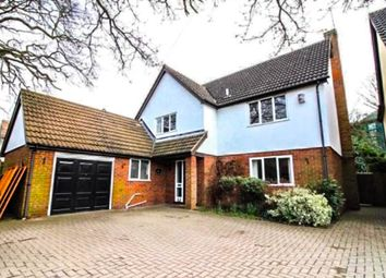 Thumbnail 4 bedroom detached house to rent in Heath Lane, Hertford Heath, Hertford