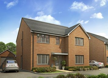 "Thumbnail 4 bed detached house for sale in ""The Marylebone"" at Lodge Road, Cranfield, Bedford"