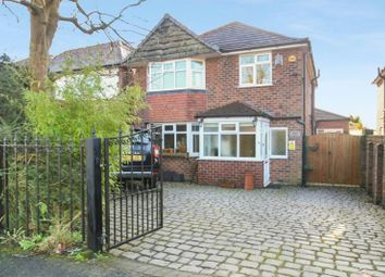 Thumbnail 3 bed detached house for sale in Rivershill Gardens, Hale Barns, Altrincham