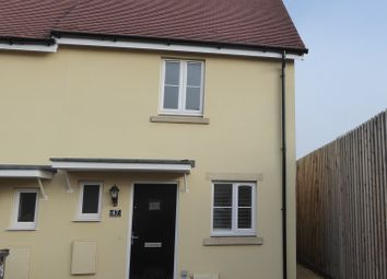 Thumbnail 2 bed end terrace house to rent in Garston Mead, Frome