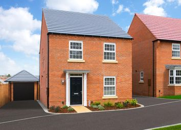 """Thumbnail 4 bedroom detached house for sale in """"Ingleby"""" at The Old Grammar School, School Road, Kibworth, Leicester"""