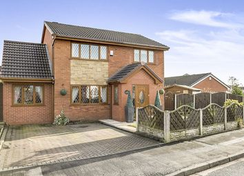 Thumbnail 5 bedroom detached house for sale in Higher Meadow, Clayton-Le-Woods, Chorley