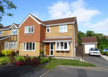 Thumbnail 4 bed detached house for sale in Aspen Close, Ravenstone, Leicestershire