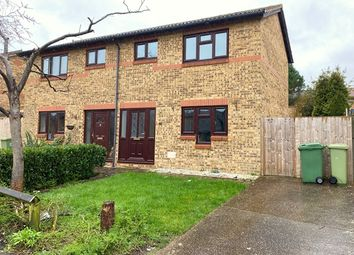 Thumbnail 2 bedroom semi-detached house to rent in Lowndes Grove, Shenley Church End, Milton Keynes