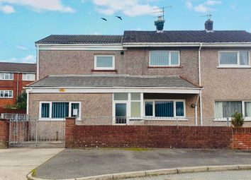 Thumbnail 3 bed semi-detached house for sale in Terfyn Ynysawdre, Tondu, Bridgend