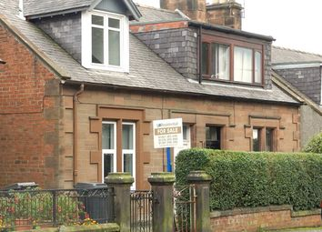 Thumbnail 2 bedroom semi-detached house for sale in 154 Annan Road, Dumfries, Dumfries & Galloway