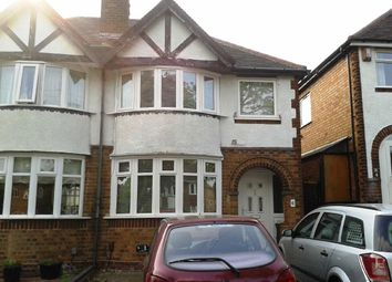 Thumbnail 3 bed semi-detached house to rent in Gleneagles Road, Yardley, Birmingham