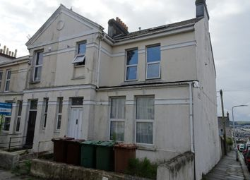 Thumbnail Studio for sale in Flat 1, 70 Mount Gould Road, Plymouth, Devon