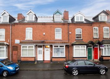 Thumbnail 3 bed terraced house for sale in Leslie Road, Edgbaston