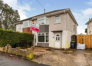 Thumbnail 3 bed semi-detached house for sale in Beauchamp Avenue, Gosport