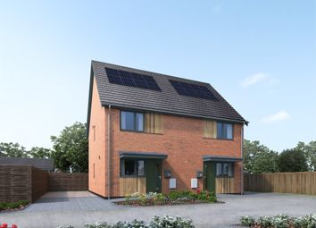 Thumbnail 2 bed semi-detached house for sale in Mill Road, Little Melton, Norwich