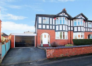 Thumbnail 3 bed semi-detached house for sale in Parkside Drive, May Bank, Newcastle