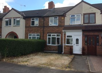 Thumbnail 3 bed terraced house to rent in Arkley Road, Hall Green, Birmingham
