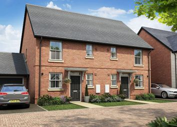 "Thumbnail 3 bed semi-detached house for sale in ""Colmer"" at Stansted Road, Elsenham, Bishop's Stortford"