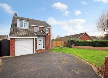 Thumbnail 3 bed detached house for sale in Holyrood Close, Trowbridge, Wiltshire