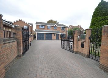 Thumbnail 5 bed detached house for sale in Highgrove Drive, Chellaston, Derby