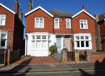 Thumbnail 4 bed semi-detached house for sale in Vicarage Drive, Eastbourne