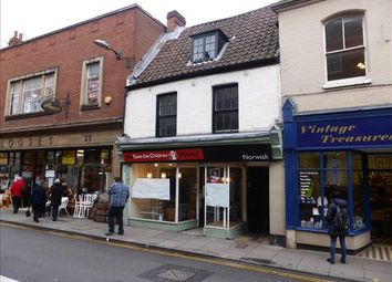 Thumbnail Retail premises for sale in 21 Magdalen Street, Norwich