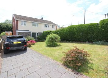 Thumbnail 3 bed semi-detached house for sale in Martindale Close, Tredegar